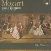Klára Würtz: Mozart: Piano Son. Kv311, Kv330, Kv331 - CD