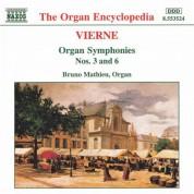 Vierne: Organ Symphonies Nos. 3 and 6 - CD