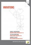 Daniel Barenboim, Yefim Bronfman, András Schiff: Variations -Beethoven: Diabelli, Brahms, Bach - DVD