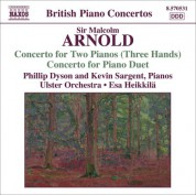 Arnold: Concerto for 2 Pianos 3 Hands / Concerto for Piano Duet - CD