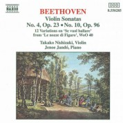 Beethoven: Violin Sonatas Opp. 23 and 96 / 12 Variations - CD