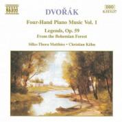 Çeşitli Sanatçılar: Dvorak: Four-Hand Piano Music, Vol.  1 - CD