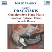Lorenda Ramou: Dragatakis: Piano Works (Complete) - CD
