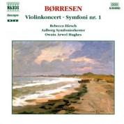 Owain Arwel Hughes: Borresen, H.: Violin Concerto / Symphony No. 1 - CD