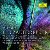 Klaus Florian Vogt, Christiane Karg, Rollando Villazón, Regula Mühlemann, RIAS Kammerchor, Chamber Orchestra of New York, Yannick Nézet-Séguin: Die Zauberflöte - CD
