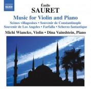 Michi Wiancko: Sauret: Music for Violin and Piano - CD