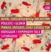 Mariss Jansons, Royal Concertgebouw Orchestra: Poulenc, Honegger: Gloria, Symphony No 3 - SACD
