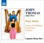 Sebastien Lipman: Thomas, J.: Harp Music - CD