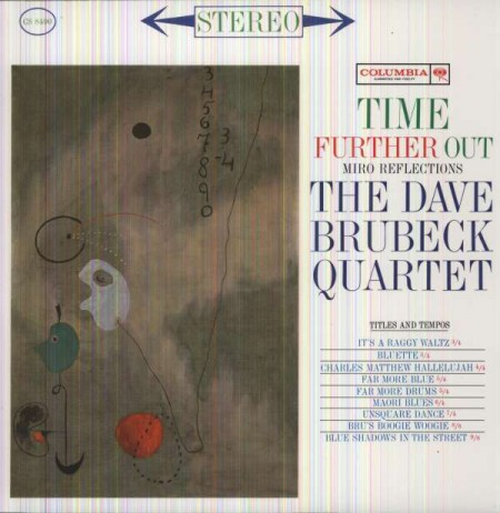 Dave Brubeck Quartet: Time Further Out - Plak