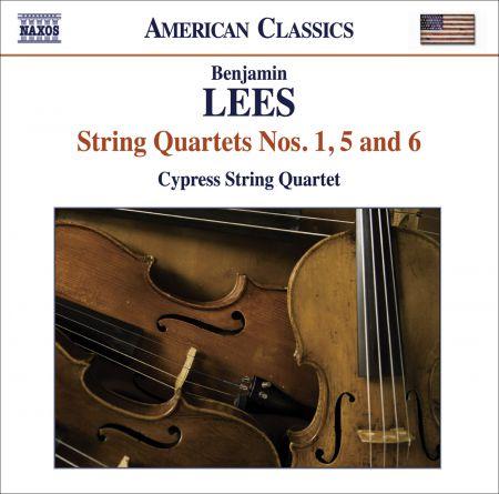 Cypress String Quartet: Lees, B.: String Quartets Nos. 1, 5 and 6 - CD