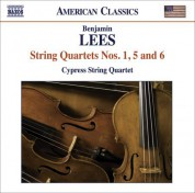 Cypress String Quartet: Lees, B.: String Quartets Nos. 1, 5 and 6 - CD