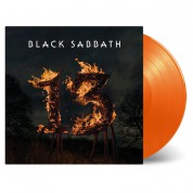 Black Sabbath: 13 (Orange Vinyl) - Plak