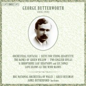 BBC National Orchestra of Wales, Kriss Russman, James Rutherford: Butterworth: Orchestra - SACD