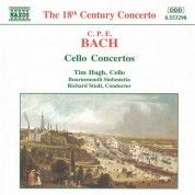 Tim Hugh: Bach, C.P.E.: Cello Concertos, Wq. 170-172 - CD