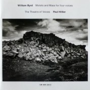 The Theatre of Voices, Paul Hillier: William Byrd: Motets and Mass for four voices - CD