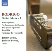 Jeremy Jouve: Rodrigo: Guitar Works, Vol. 1 - CD