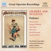 Sullivan: Patience (D'Oyly Carte) (1951) - CD