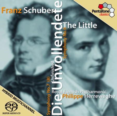 Philippe Herreweghe, Royal Flemish Philharmonic: Schubert: Symphony No. 6 - 7 - SACD