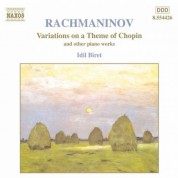 Rachmaninov: Variations On A Theme of Chopin / Preludes - CD