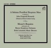 Erich Leinsdorf, Boston Symphony Orchestra: Mozart: Requiem KV 626 - CD