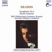 Brahms: Symphony No. 1 / Haydn Variations - CD