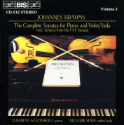 Elisabeth Westenholz, Nils-Erik Sparf: Brahms: Violin Sonatas - CD