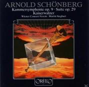 Martin Sieghart, Wiener Concert-Verein: Schönberg: Suite op.29 - Plak