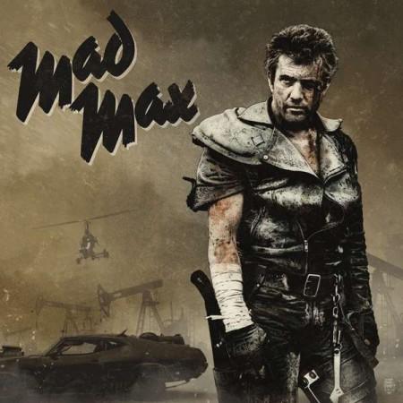 Brian May, Maurice Jarre, Tina Turner: Mad Max Trilogy (Gray, Black & Sand Vinyl) - Plak