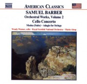 Marin Alsop, Royal Scottish National Orchestra, Wendy Warner: Barber: Cello Concerto - Medea Suite - Adagio for Strings - CD