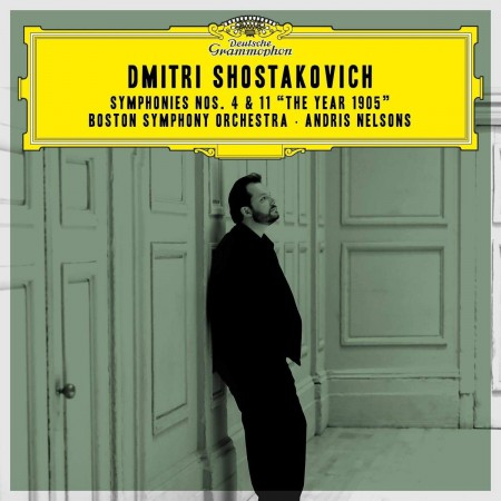 Andris Nelsons, Boston Symphony Orchestra: Shostakovich: Symphony No. 4 & 11, The Year 1905 - CD