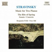 Stravinsky: Music for Two Pianos - CD