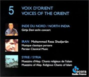 Çeşitli Sanatçılar: Voices of the Orient - CD