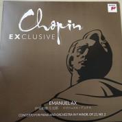 Emanuel Ax: Chopin Exclusive Piano Concerto No. 2 - Plak