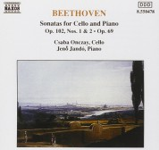 Jenö Jandó, Csabo Onczay: Beethoven: Cello Sonatas Vol.1 - CD