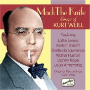 Weill: Mack The Knife - Songs of Kurt Weill (1929-1956) - CD