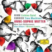 Anne-Sophie Mutter, Alan Gilbert, Michael Francis, New York Philharmonic Orchestra, Roman Patkoló: Rihm/ Penderecki/ Currier: Lichtes Spiel/ Duo Concertante/ Time Machines - CD
