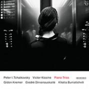 Gidon Kremer, Giedre Dirvanauskaite, Khatia Buniatishvili: Tchaikovsky, Kissine: Piano Trios - CD
