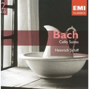 Heinrich Schiff: J.S. Bach: Cello Suites - CD