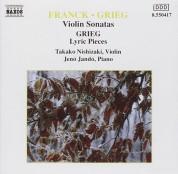 Takako Nishizaki, Jenö Jandó: Franck/ Grieg: Violin Sonatas - CD