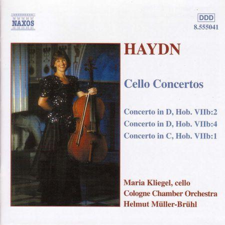 Maria Kliegel: Haydn: Cello Concertos Nos. 1, 2 and 4 - CD