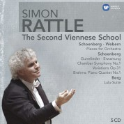 Simon Rattle -  The Second Viennese School - CD