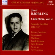 Bjorling, Jussi: Bjorling Collection, Vol. 2: Songs in Swedish (1929-1937) - CD