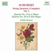 Schubert: String Quartets (Complete), Vol. 2 - CD