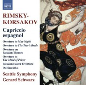 Gerard Schwarz: Rimsky-Korsakov: Capriccio espagnol - CD