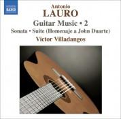 Victor Villadangos: Lauro: Guitar Music, Vol. 2 - Sonata / 4 Estudios / Suite - CD