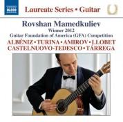 Rovshan Mamedkuliev Guitar Recital - CD