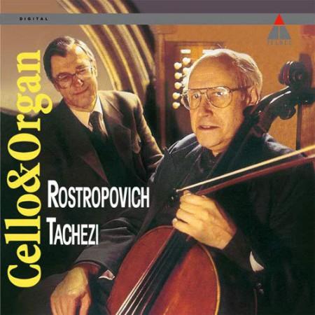 Mstislav Rostropovich, Herbert Tachezi: Cello & Organ - Plak