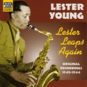 Lester Young: Young, Lester: Lester Leaps Again (1942-1944) - CD