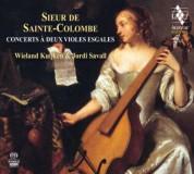 Jordi Savall, Wieland Kuijken: Concerts a deux violes esgales - SACD