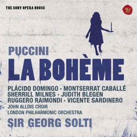 Sir Georg Solti, Placido Domingo, Montserrat Caballé, London Philharmonic Orchestra: Puccini: La Boheme - CD